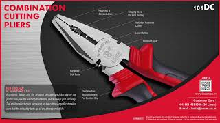 BAUM Combination Cutting Pliers - Manufactured by Shiv Forgings (India)