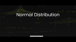 MDM4U/Grade 12 Data Management: 1.9 Normal Distribution (Continuous Distributions)