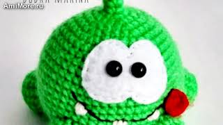Амигуруми: схема Ам Няма. Игрушки вязаные крючком - Free crochet patterns.