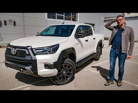 Новый Toyota Hilux 2020 Мощный как Амарок. Продвинутый как Айфон. Обзор Игорь Бурцев