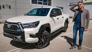 Новый Toyota Hilux 2020. Мощный как Амарок