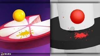 Helix Jump VS Helix Crush | Cartoons For Kids