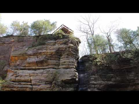 Starved Rock State Park in Illinois  April 2017