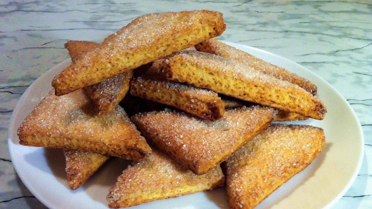 сахарные печенья простой рецепт