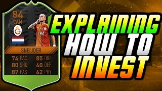 FIFA 17 UT - INVESTING EXPLAINED! HOW TO MAKE COINS FROM INVESTMENTS!