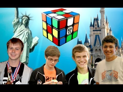 North American Rubik's Cube World Records