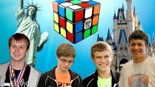 North American Rubik's Cube World Records