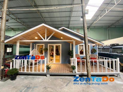 Biệt thự mini có khả năng di động đầu tiên ở Việt nam 60m2- Zentado House Vietnam