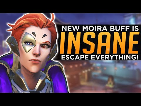 Overwatch: NEW Moira Buff is INSANE! - Escape Everything!