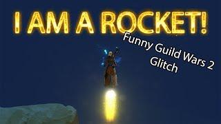 I AM A ROCKET! 🚀 Funny Guild Wars 2 Glitch (Lost Precipice)