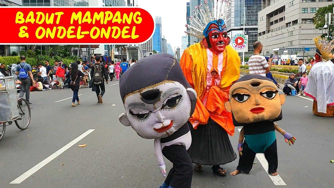 Ondel Badut Mampang Seram Www Tollebild Com