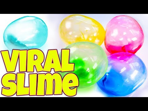 TESTING VIRAL SLIME TREND RECIPES AND HACKS! BLOONIES, WATER SLIME AND MORE!