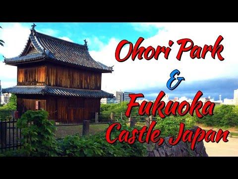 Visiting Ohori Park & Fukuoka Castle, Japan | TheRainQueen.com