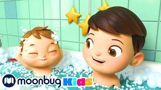 Bath Song + MORE Lellobee Songs For Kids | Kids Cartoons & Nursery Rhymes | Kids Song - Moonbug Kids