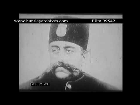 Oil Exploration in Persia in the early twentieth century.  Archive film 99542