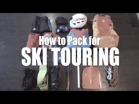 How To Pack For Ski Touring // DAVE SEARLE