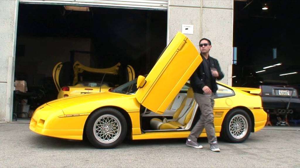 Pontiac Fiero 84 88 Lambo Door Conversion By Vertical