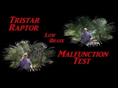 TRISTAR RAPTOR malfunction test!!