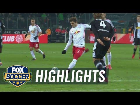 Monchengladbach vs. RB Leipzig | 2017-18 Bundesliga Highlights