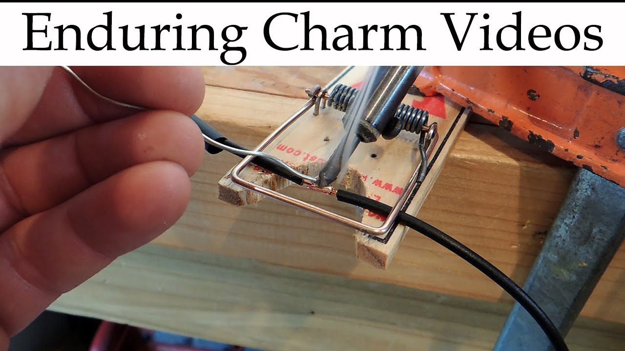 DIY Jig For Wire Splice Soldering - YouTube