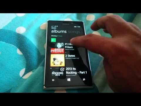 XBox Music on Windows Phone 8.1