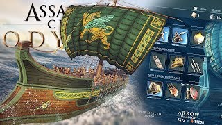 SHIP CUSTOMIZATION & NAVAL BATTLES! Assassins Creed Odyssey #2