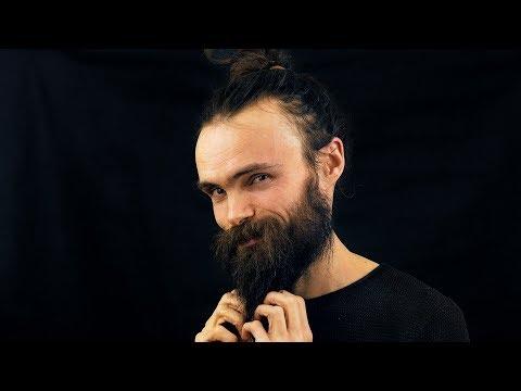 ASMR Beard Scratching (Ear to Ear, Beard to your Ears through the Mic, Whispering)