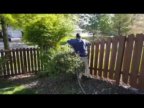 Paint Medics Fence Staining