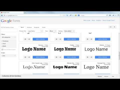 how-to-choose,-review-and-use-google-web-fonts-in-a-webpage-or-website