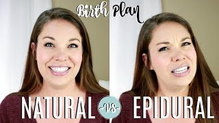 epidurals vs natural childbirth essay A water birth means at least part of your labor, delivery, or both happen while you're in a birth pool filled with warm water it can take place in a hospital, a birthing center, or at home a.