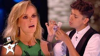 HOW'D HE DO THAT? Disappearing Money!  | BGT: The Champions | Magicians Got Talent