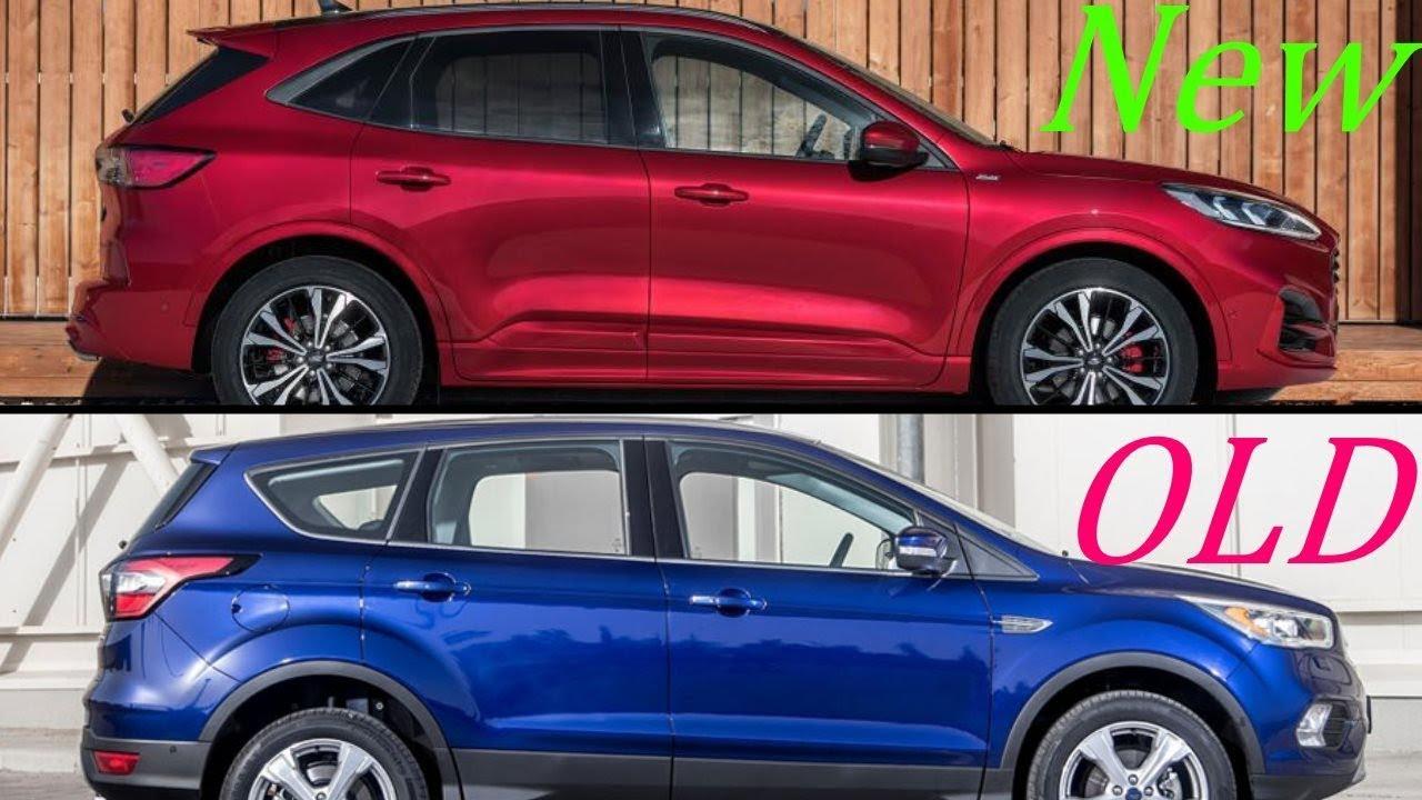 New 2019 Ford Kuga Vs. Old 2018 Ford Kuga - YouTube