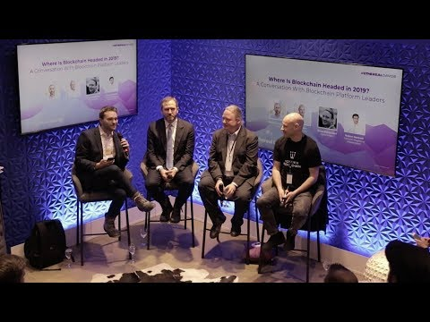 Where is #Blockchain Headed in 2019? | Ethereal Lounge @ Davos 2019