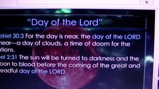 Spiritual Warfare A Day of Clouds No SUN
