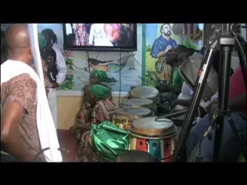 Petwo-Kongo rite: Agawou greets the audience (Video 29)