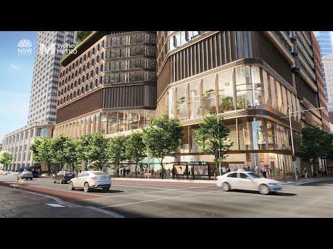 Sydney Metro: The New Pitt Street Station