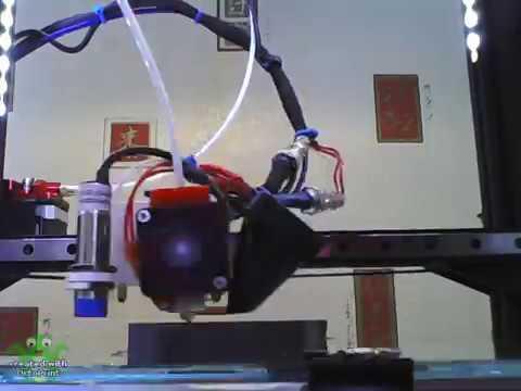 CR 10 webcam holder Timelapse with MatteForge Advanced PLA Filament