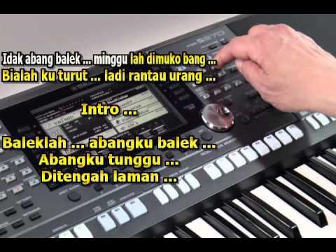 Abangku Jauh Karaoke Keyboard Lagu Jambi