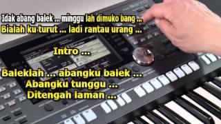 Gambar cover Abangku Jauh Karaoke Keyboard Lagu Jambi