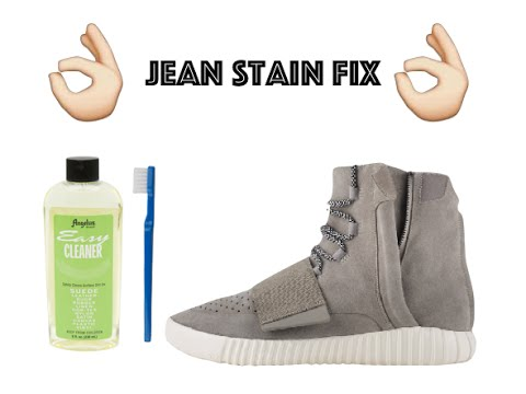 How to remove jean stains from your sneakers