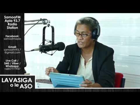 SamoaFM Apia - Lavasiga o le Aso 06 Tuesday