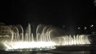 فوارة دبی   انت عمري ام كلثوم    The Dubai Fountain   Enta Omri