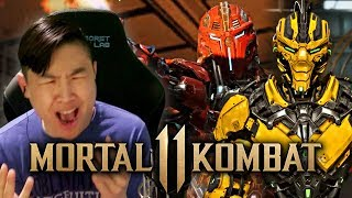 Mortal Kombat 11 - Sektor, Cyrax, & MORE Reveal Trailer!! [REACTION]