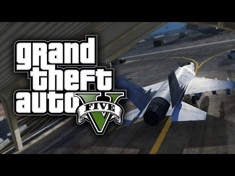 GTA 5 Funny Moments! - Operation Jet...