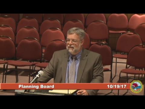 Planning Board 10.19.17