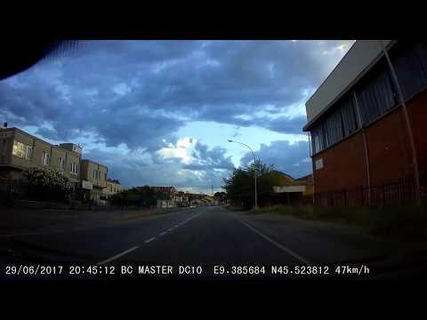 BC Master DC10 Dash Cam Rainbow&cloud Time