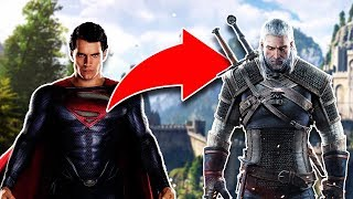 Superman In The WITCHER Netflix Series!
