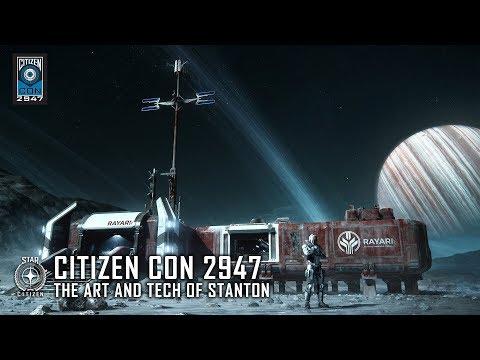 STAR CITIZEN: CitizenCon 2947 - The Art and Tech of Stanton