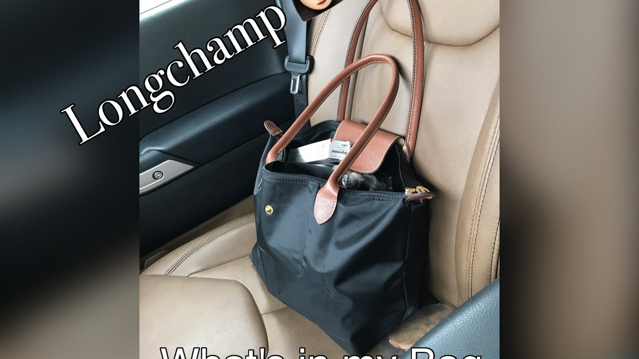 6a80aa2f53 What's in My Bag, Longchamp Le Pliage Tote - YouTube