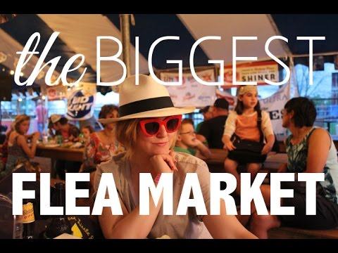 Biggest Flea Market EVER! | Round Top Antique Fair